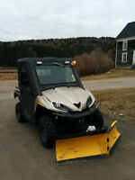 Teryx 750 Twin with plow