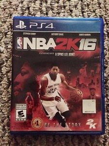 Ps4 NBA 2k16 like new