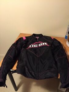 Woman's Icon motorcycle jacket