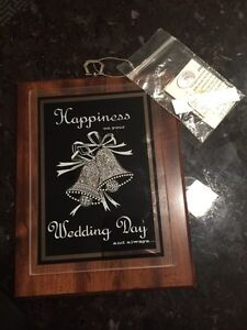 Wedding gift new with tag