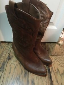 Fake Aldo and Spring western boots Cambridge Kitchener Area image 4