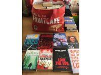 Crime books joblot
