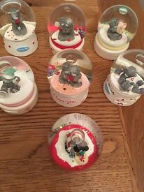 Selection of Snow globes