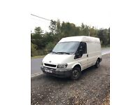 Ford Transit 2.0 td left hand drive in good condition