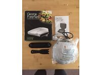 George foreman two portion compact grill