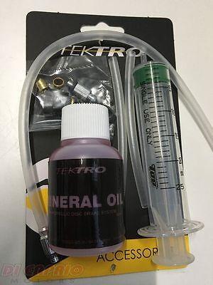 Juego de Purga Frenos de Disco Hidráulicos Bici MTB + Aceite Mineral...