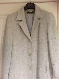 Ladies size 12-14 wool coat
