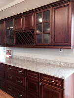 NEW KITCHEN CABINETS WITHIN 48 HOURS!!