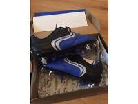 Boys football boots and skin top