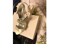 Ivory Wedding Shoes Size 4