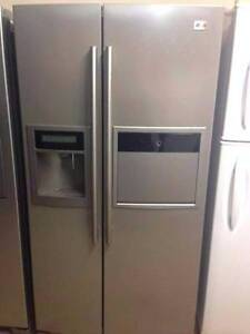LG steel 621L Fridge and Freezer / 12 Months warranty Yeerongpilly Brisbane South West Preview