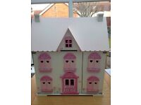 ELC Rosebud Cottage Dolls House