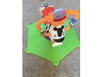 Fisher-Price Bounce 'n' Spin Zebra