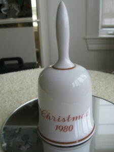 1980 LIMITED EDITION CHRISTMAS BELLS..[WEST GERMANY]