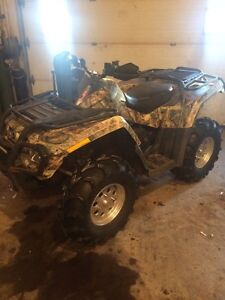 2008 can am outlander 650