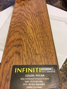 12,3 mm AC4 Rated LAMINATE $2.99 ( INCLUDES INSTALLATION ) Stratford Kitchener Area image 6