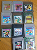 11 Jeux Gameboy et gemeboy color
