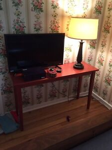 Solid Wood Sofa TV Hall Table!