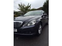 MERCEDES E220 2.2 Diesel Automatic Valid PCO license.