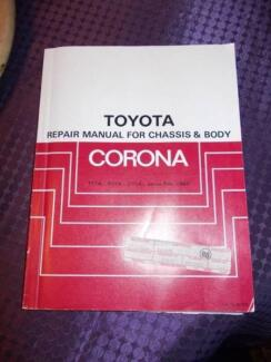 TOYOTA CORONA 1982  REPAIR MANUAL FOR CHASSIS AND BODY North Richmond Hawkesbury Area Preview