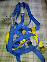 2 SAFETY  HARNESS' WITH LANYARD