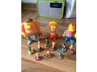 Simpson figurines