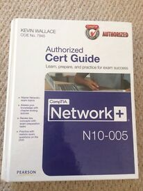 CompTIA Network+ N10-005 text book