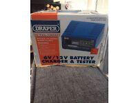 Draper 6v /12v battery charger