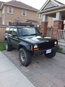 97 jeep Cherokee xj and a 99 parts jeep