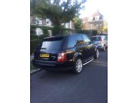 Car Range Rover black