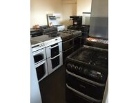 Gas and electric cookers with warranty