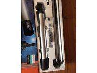 Boxed Vivitar telescope & microscope