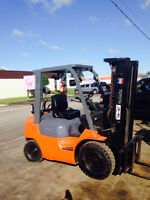 Pneumatic Tire Forklifts All Models