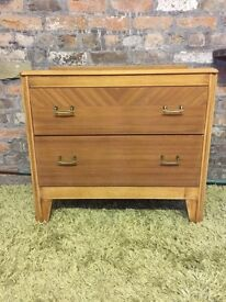 Retro, vintage chest of drawers, cupboard, unit