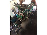 Stomp 125 cc pitbike / scrambler