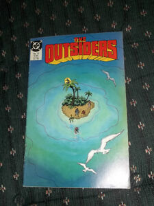 The Outsiders Comic Book