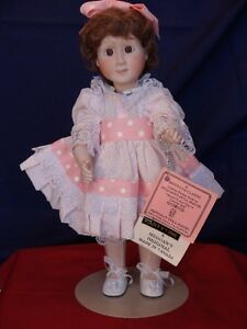Meggan's Collectors Canadian Procelain Handmade Doll Partytime London Ontario image 4
