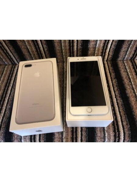 Apple iPhone 7 plus 128GB Silver LIKE NEW! UNCLOCKED