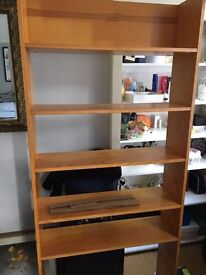 Solid pine bookshelves for sale