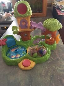 Fisher Price Roll-A-Rounds Jungle Friends Treehouse