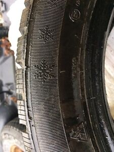 Near new winter studded tires 205 55 16 $500 must go  Prince George British Columbia image 3