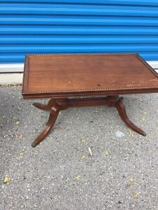 Small Brown vintage coffee table  London Ontario image 2