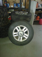 18in. Ford Rims