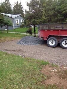 GRAVEL, SOIL, MULCH, SAND, ROCK, WOOD DELIVERY/DEBRIS REMOVAL!!!