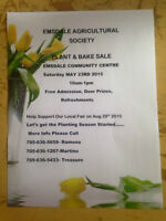 Emsdale Agricultural Societys Plant and Bake Sale