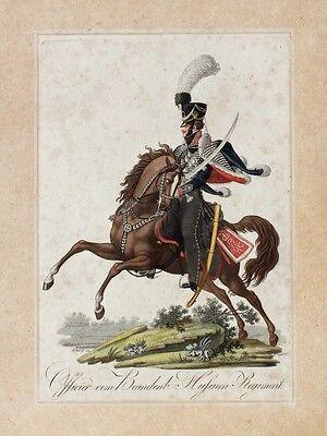 Friedrich Jügel Napoleonische Kriege Husar Regiment Attila Säbel Zieten Preußen