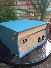 Dansette 'Tempo' in turquoise - Fuly Reconditioned!
