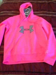"""UNDER ARMOUR"" women's breast cancer edition hoodie  St. John's Newfoundland image 1"