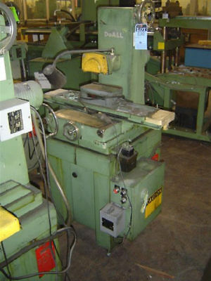 6 X 12 Doall Dh612 Hand-feed Horizontal-spindle Surface Grinder - 25804