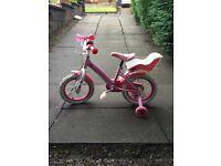 Girls 14 inch Hello Kitty Bike
